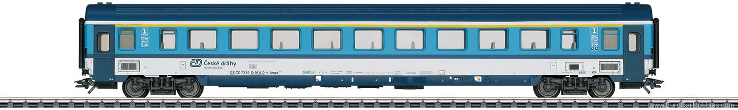 Marklin 43762 CD Apmz Passenger Car, 1st Class