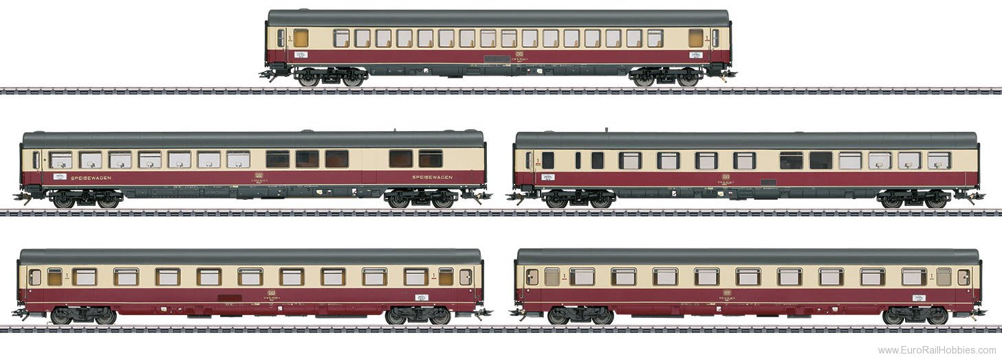 Marklin 43856 TEE 32 Parsifal Express Train Passenger Car S