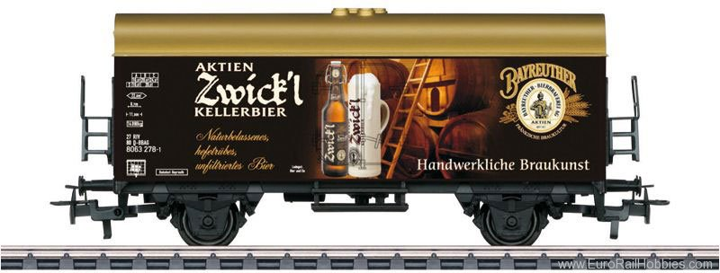 Marklin 44212 ''Aktien Zwickl KELLERBIER'' Beer Car (Great