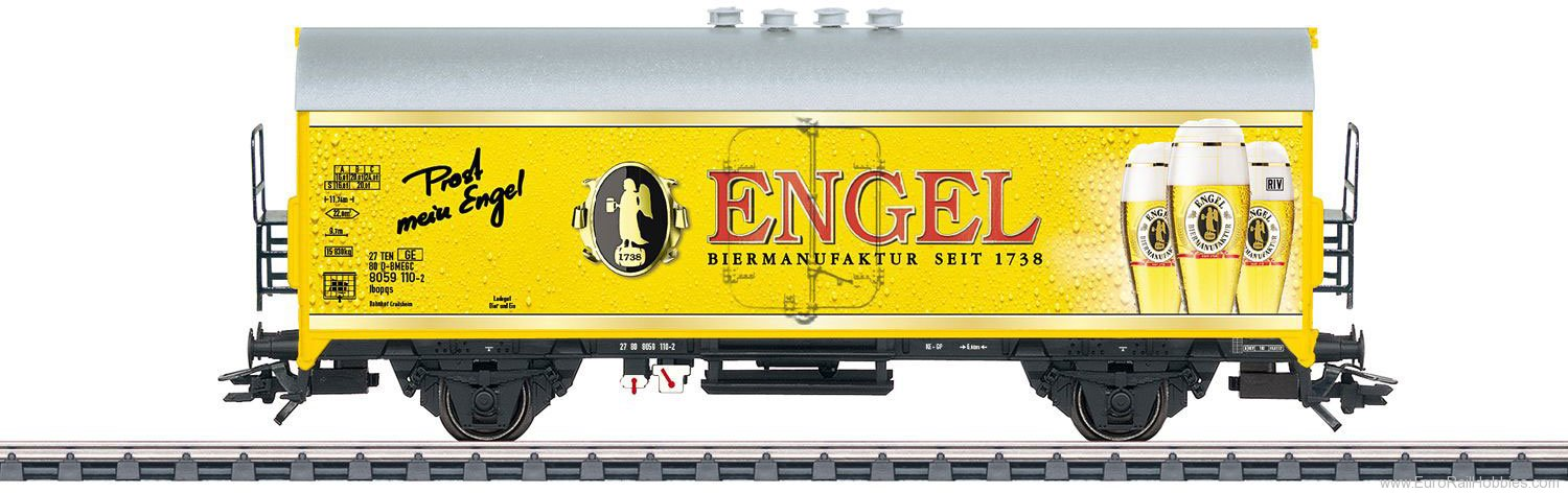 Marklin 45025 'Biermanufaktur Engel' Beer Car