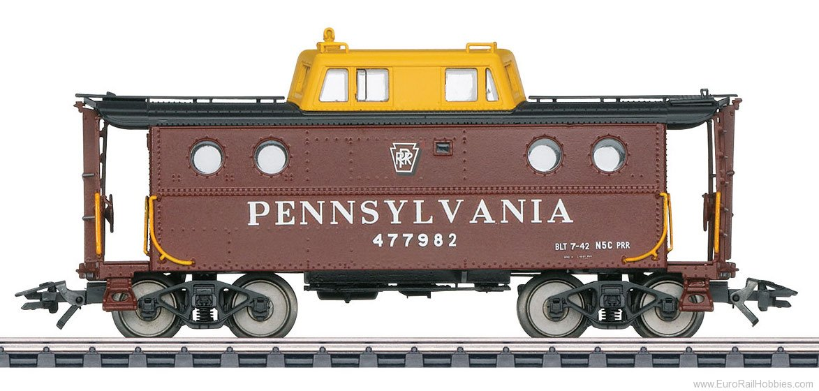 Marklin 45701 PRR (PENNSYLVANIA) 477982 Caboose Car