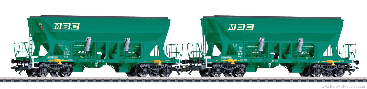 Marklin 45806 Type Faccns Bulk Freight Car Set