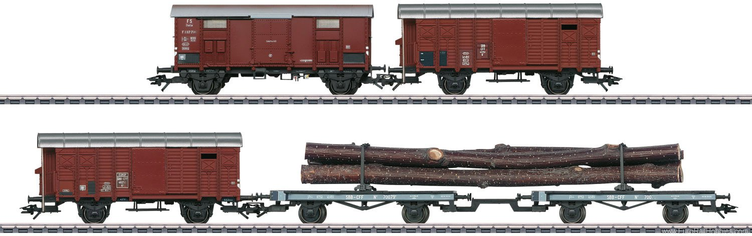 Marklin 46056 Freight Car Set for the Class C 5/6 Steam Loc