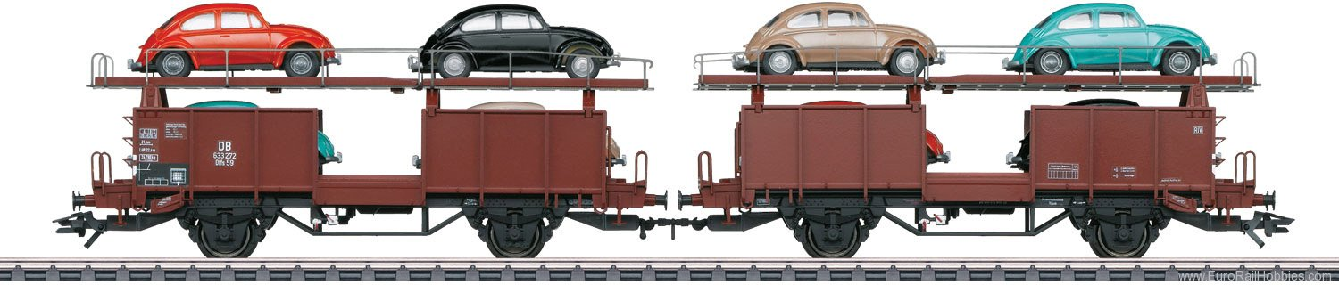 Marklin 46138 DB Type Offs 59 Pair of Auto Transport Cars (