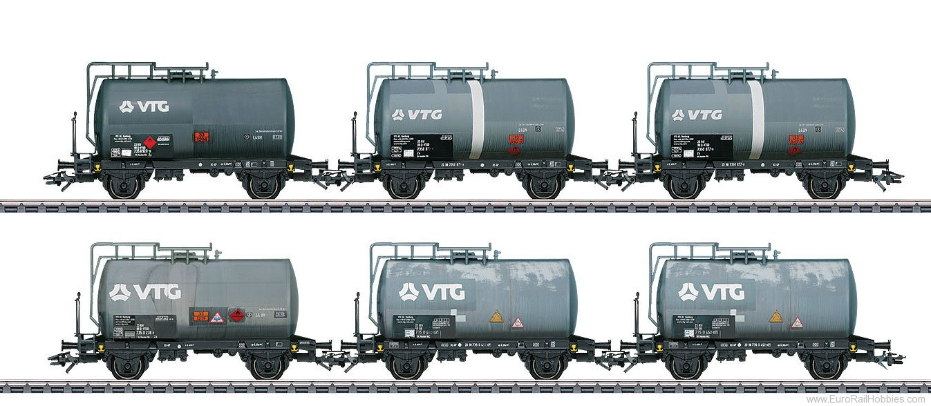 Marklin 46436 Type Zs VTG Tank Car Set