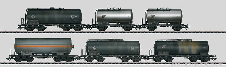 Marklin 46533 Era III Tank Car Set DB  (3/2013 Exclusiv Ite
