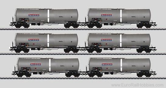 Marklin 46543 NACCO (Czech) Tank Car Set