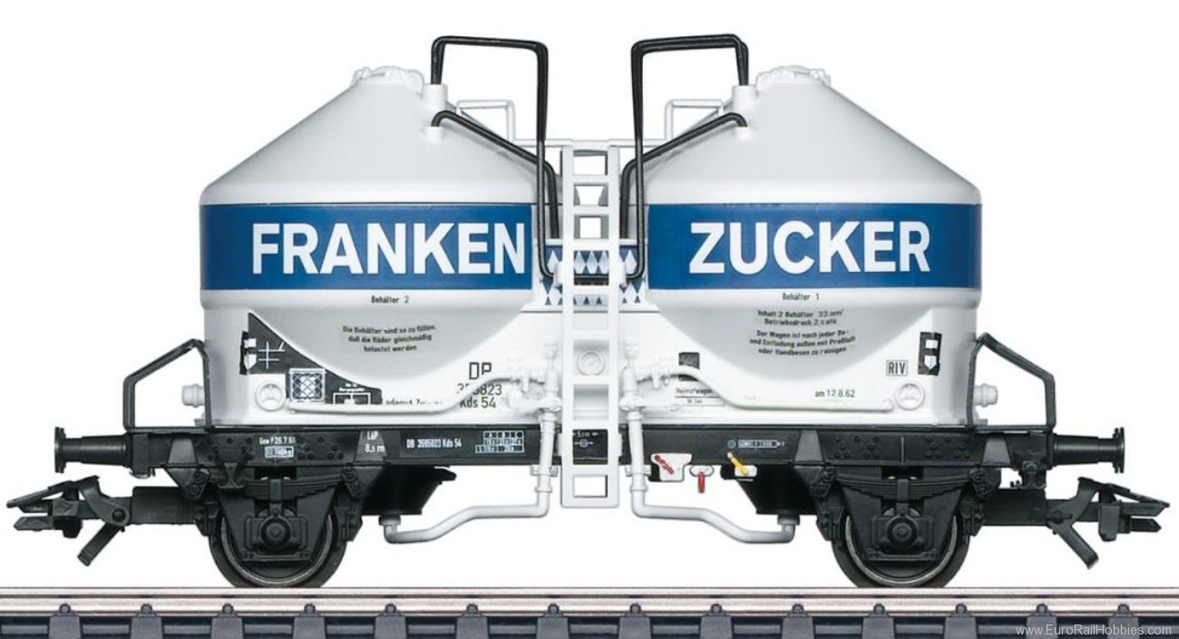 Marklin 46620 DB ''''Frankenzucker'''' Silo Container Car