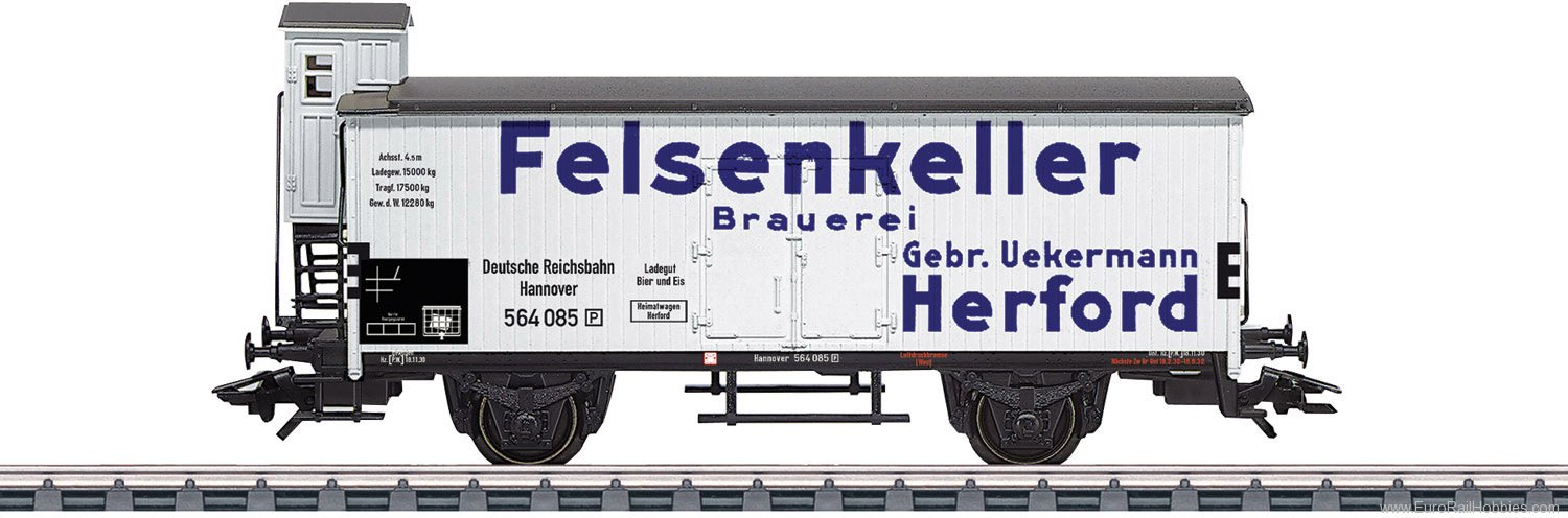 Marklin 46806 DRG Two-Axle Beer Refrigerator Car