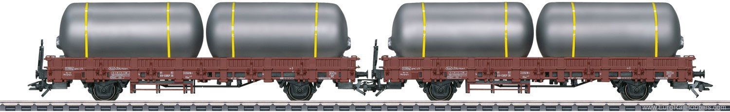 Marklin 46925 Set with 2 Type Kbs Stake Cars (Factory Sold