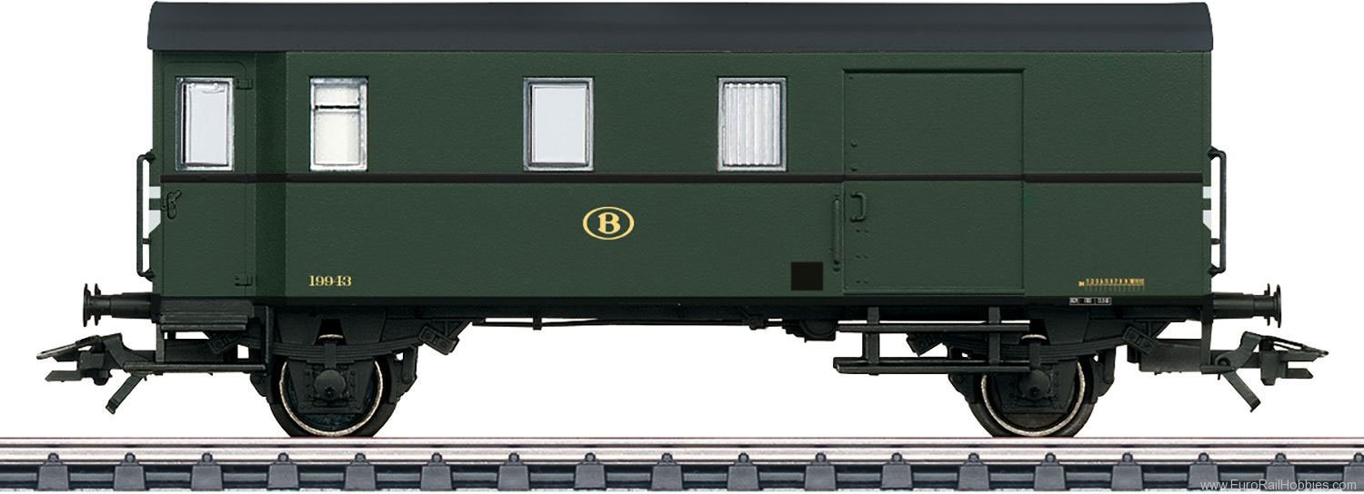 Marklin 46984 SNCB Type Pwgs 41 Freight Train Baggage Car