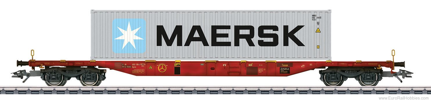 Marklin 47057 DK Type Sgnss Container Transport Car