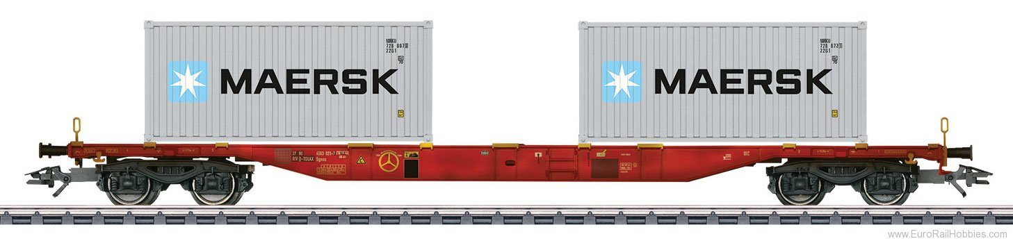 Marklin 47059 DK Type Sgnss Container Transport Car (Factor