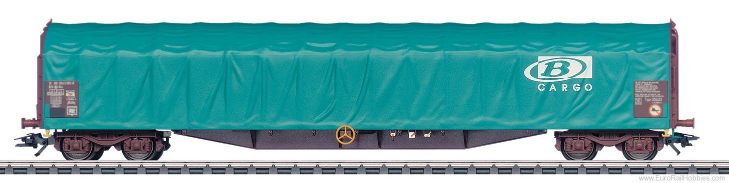 Marklin 47063 SNCB Type Rils Sliding Tarp Car