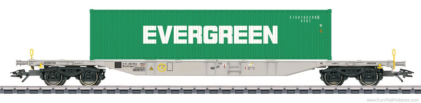 Marklin 47065 SE Type Sgnss 114 Container Transport Car