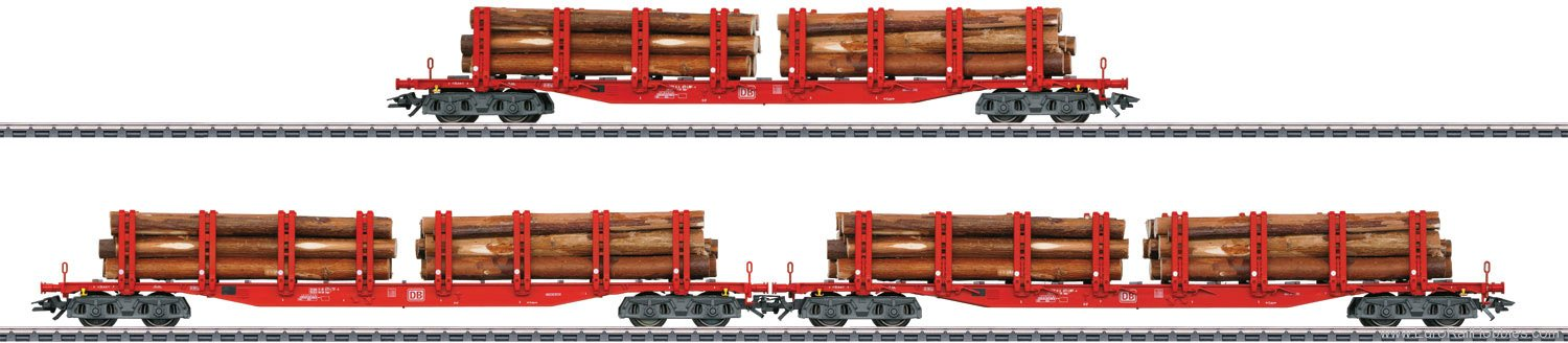 Marklin 47144 Set with 3 Type Snps Stake Cars