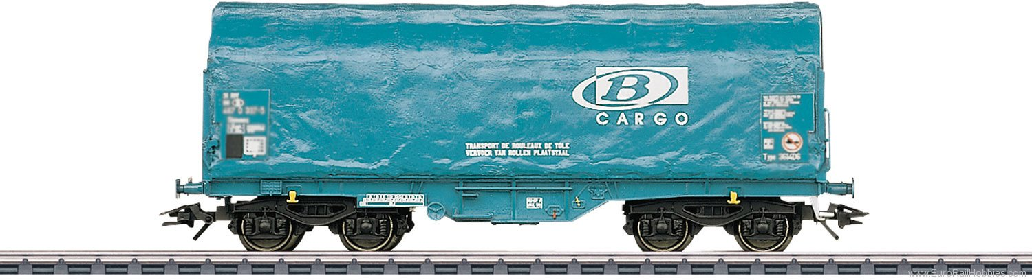 Marklin 47213 Type Shimmns Sliding Tarp Car