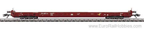 Marklin 4740 DEPRESSED FLATCAR/TRUCK DB 91