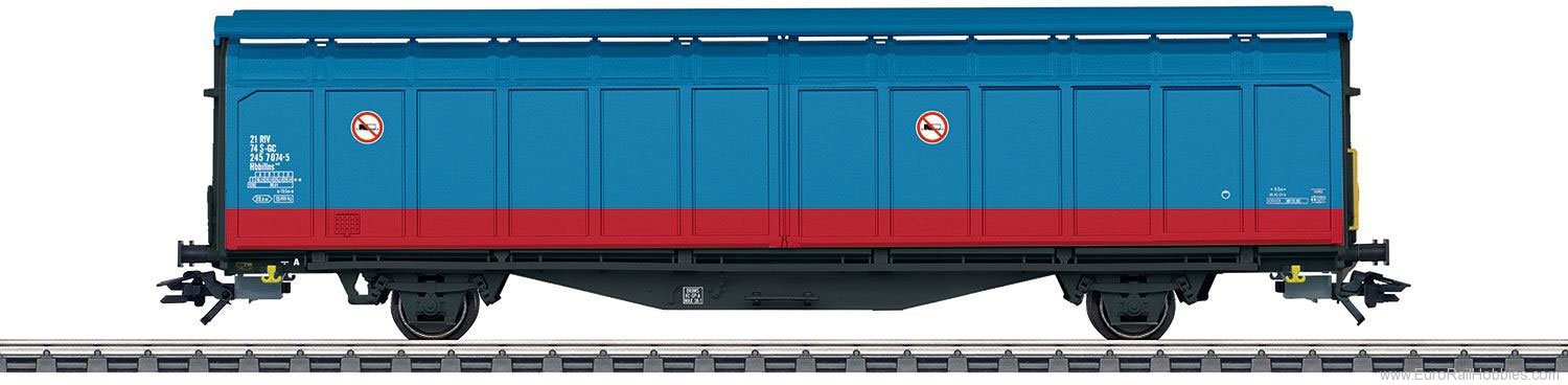 Marklin 48013 SJ Type Hbbillns Sliding Wall 2-Boxcar Set