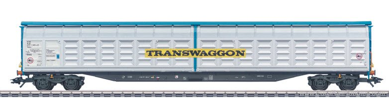 Marklin 48056 DB-AG High-Capacity Sliding Wall Boxcar