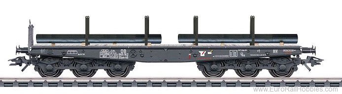 Marklin 48688 DB Type Ssym 46 Heavy-Duty Flat Car with Load