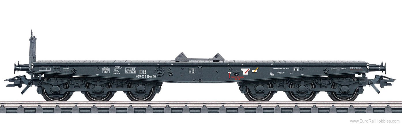 Marklin 48693 DB Type SSym 46 Heavy-Duty Flat Car
