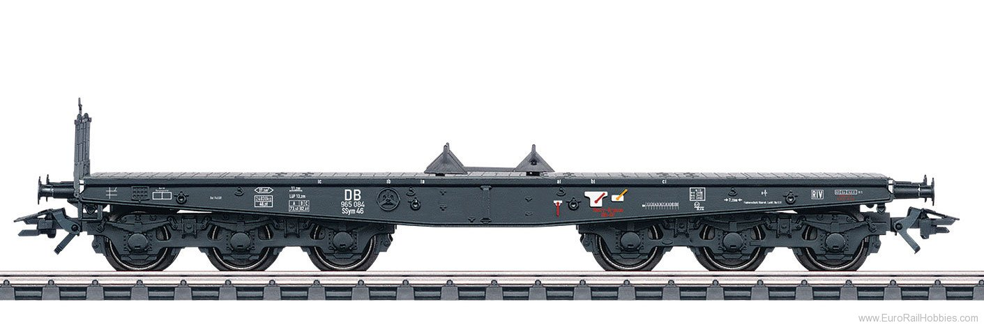 Marklin 48694 DB Type SSym 46 Heavy-Duty Flat Car