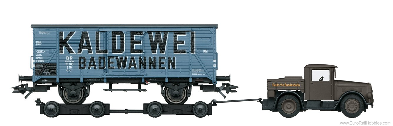 Marklin 48822 Type G 10 Boxcar with Culemeyer design road r
