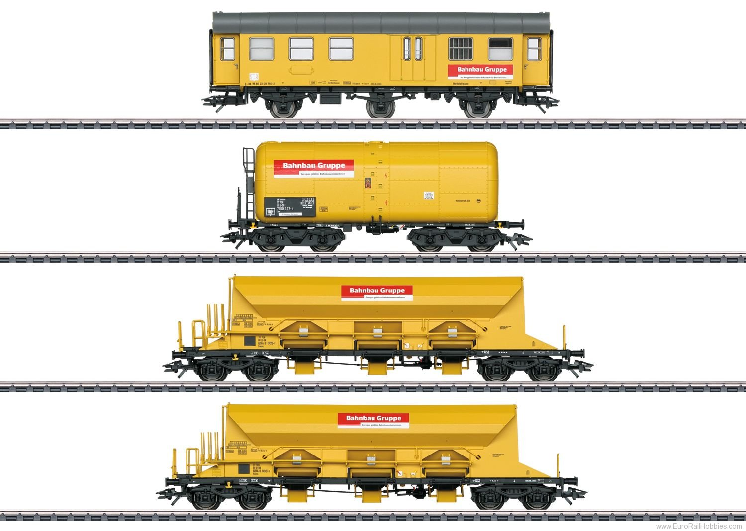 Marklin 49969 DBG 'Track Laying Group' Freight 4-Car Set, M