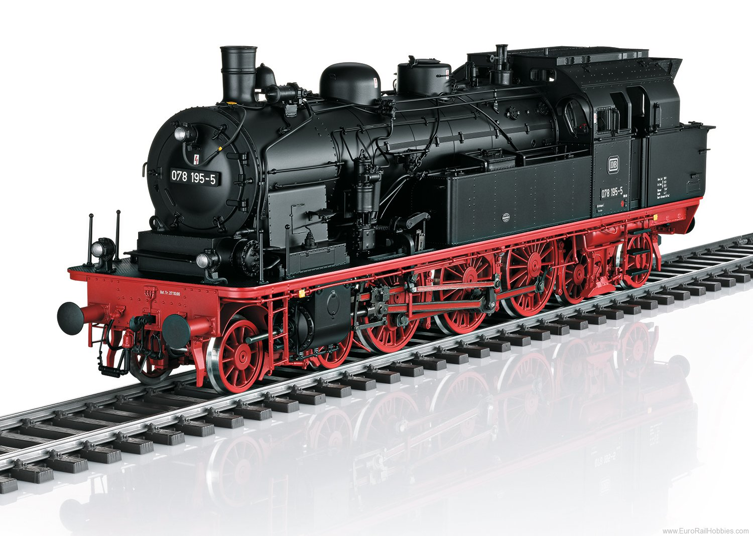 Marklin 55074 DB cl 078 Steam Tank Locomotive, MFX/DCC w/So