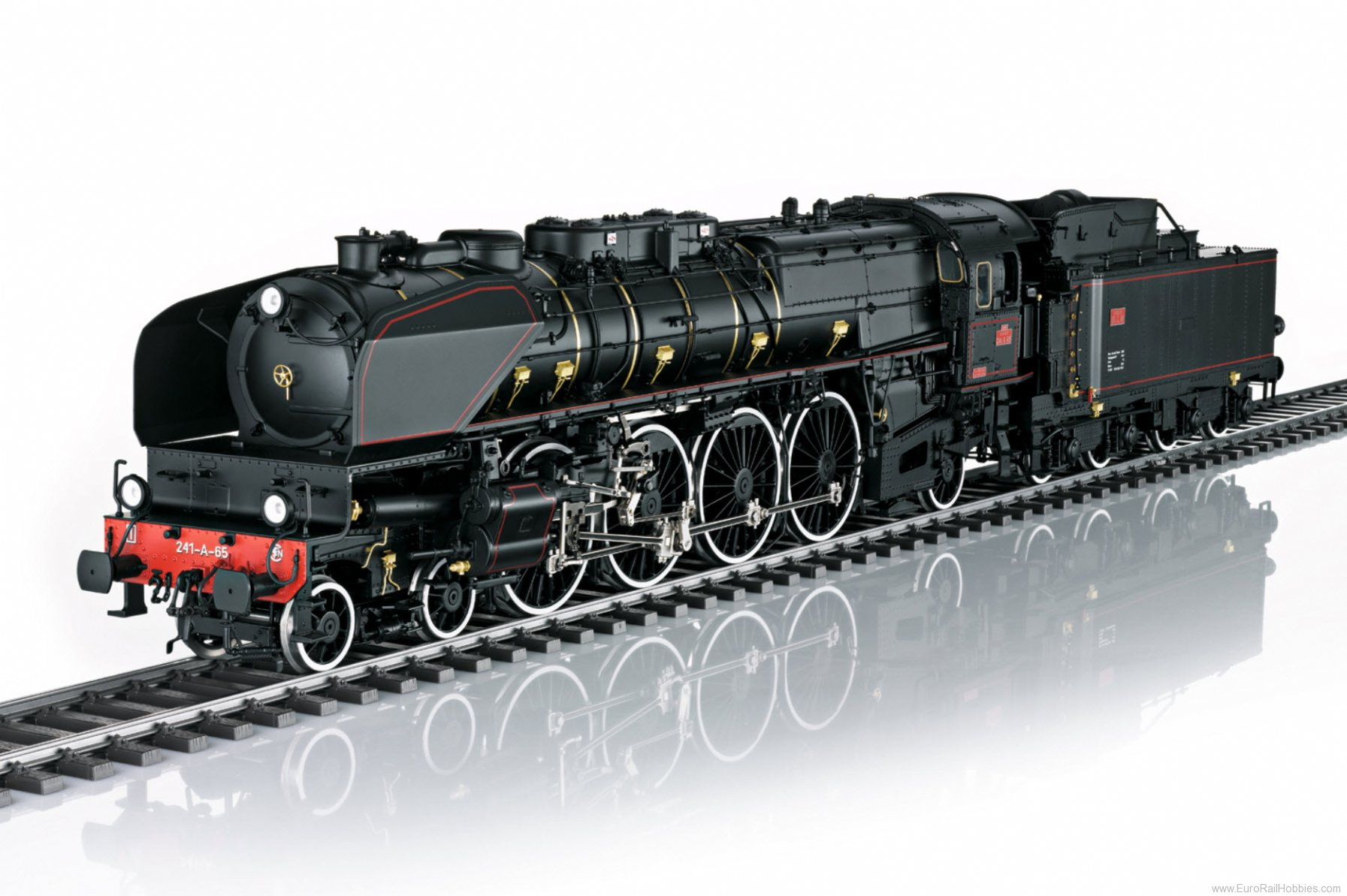 Marklin 55082 SNCF cl 241-A Steam Locomotive, MFX+ w/Sound