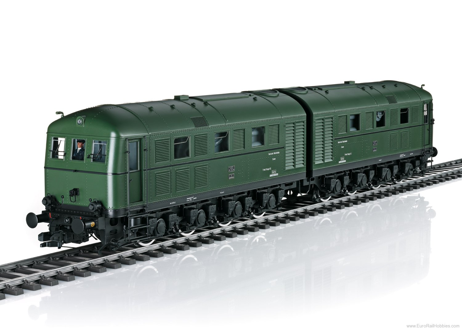 Marklin 55285 DRG D 311.01 a/b Double Diesel Locomotive, (b