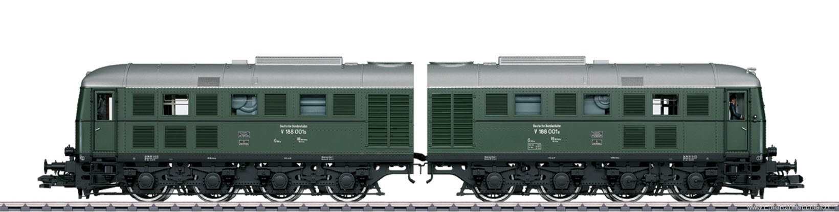 Marklin 55286 DB V 188 001 a/b Double Diesel Locomotive, (b