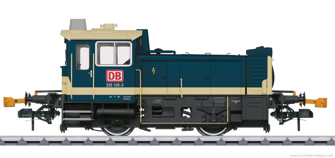 Marklin 55334 DB AG Köf III Small Diesel Locomotive, MFX