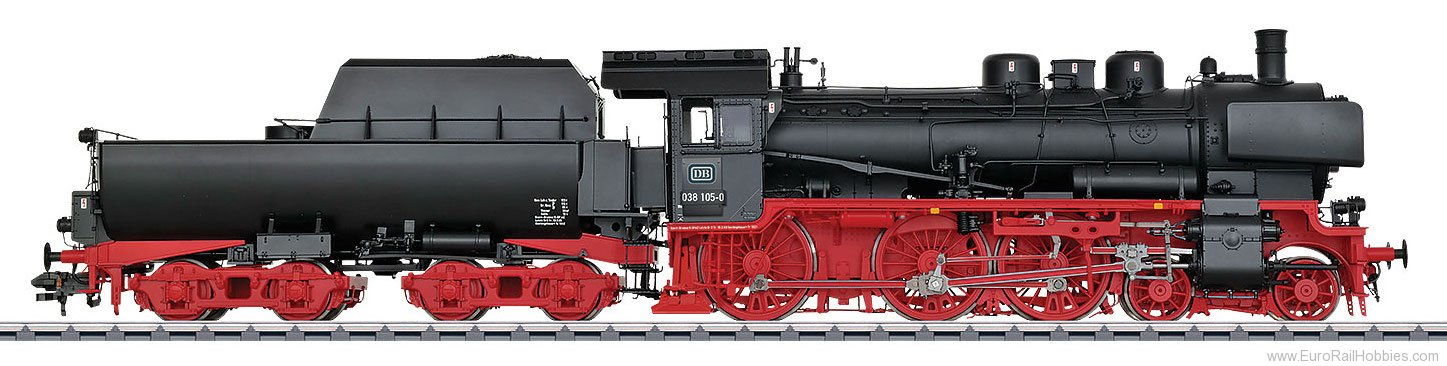 Marklin 55380 DB cl 038.10-40 Steam Locomotive w/Tub-Style