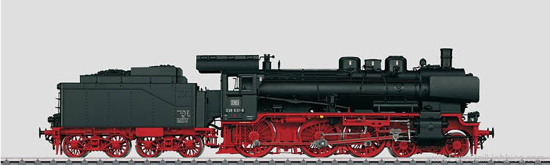Marklin 55384 DB CL 38.10-40 Steam Locomotive w/Tender MFX+