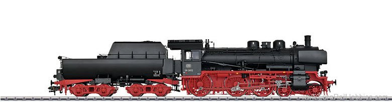 Marklin 55386 DB cl 38.10-40 Steam Locomotive w/Tub-Style T