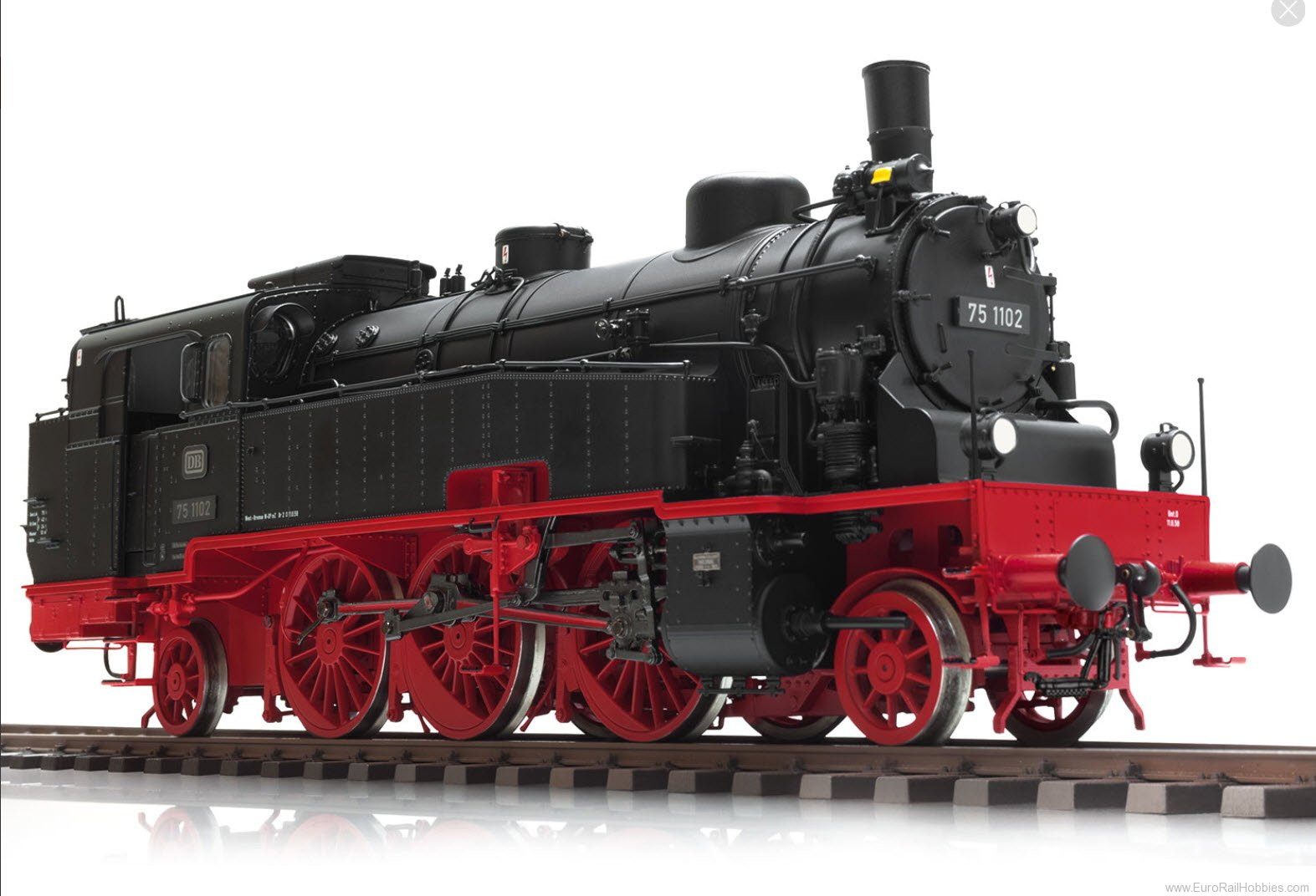 Marklin 55753 DB BR 75.4 10-11Tank Locomotive MFX w/Sound (