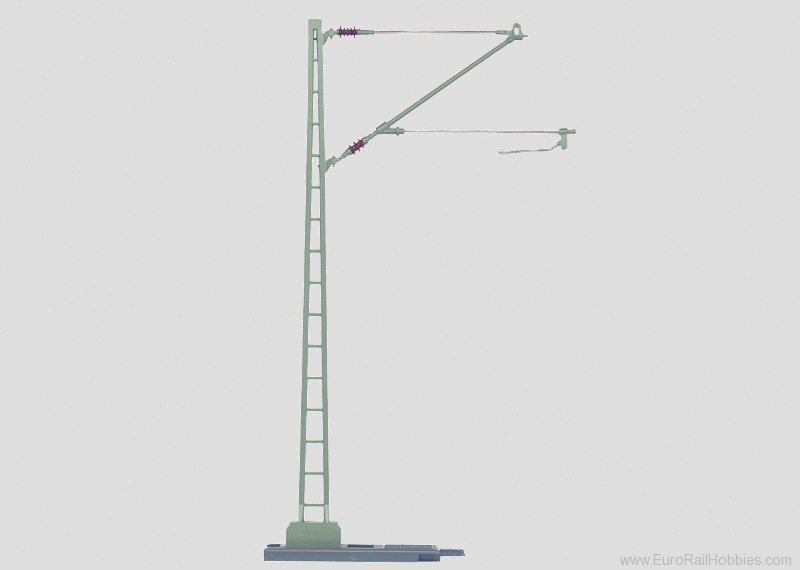 Marklin 5632 Catenary Mast Height 25.5 cm/10-1/16' (All me
