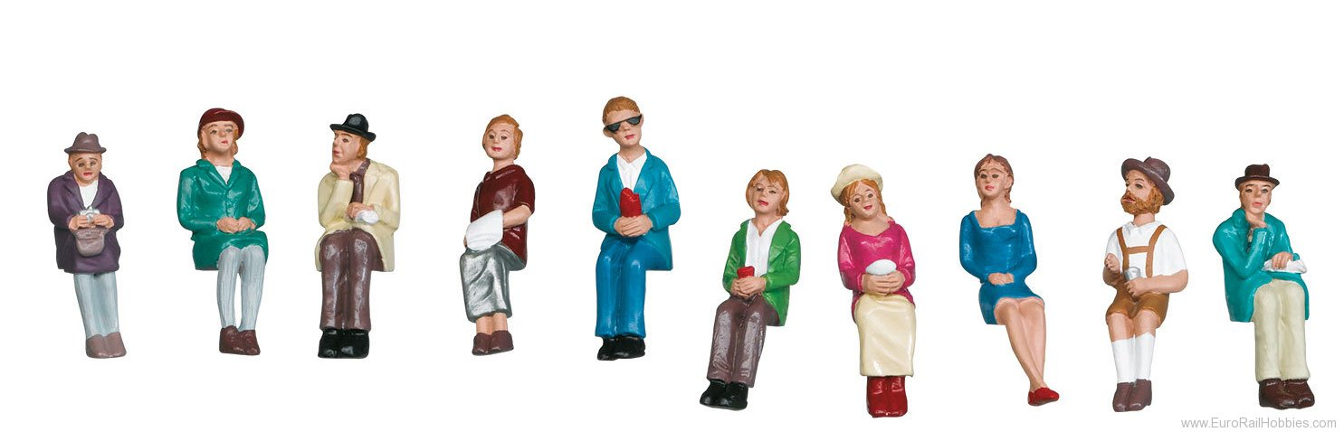 Marklin 56404 'Seated Passengers' Group of 10 Figures
