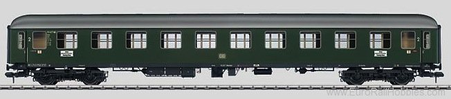 Marklin 58024 DB B4um-61 Express Train Passenger Car