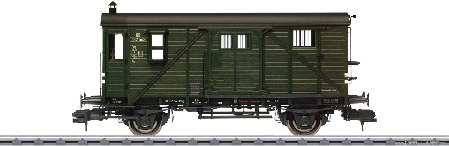 Marklin 58119 Type Pwg Pr 14 Freight Train Baggage Car