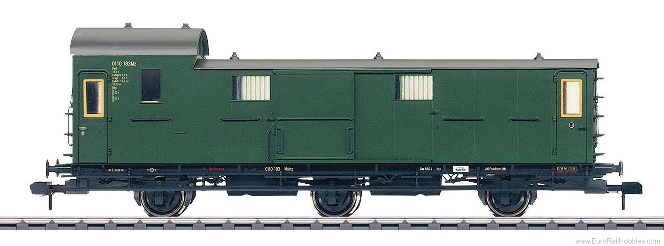 Marklin 58175 DB Baggage Car