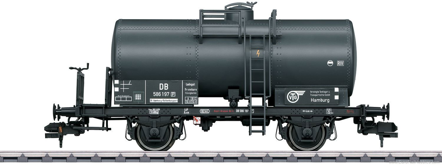 Marklin 58391 DB 'VTG' Privately Owned Tank Car