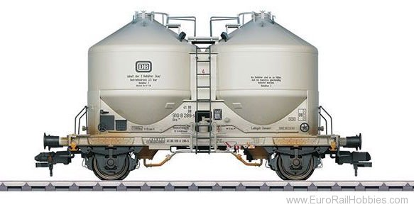 Marklin 58615 DB Powdered Freight Silo Container Car (Weath