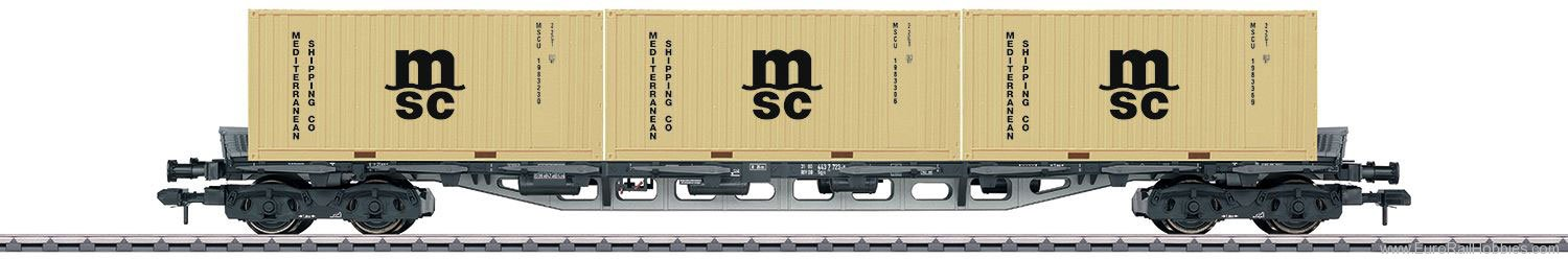 Marklin 58708 DB Type Sgjs 716 General-Purpose Container Tr