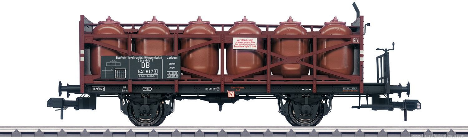 Marklin 58725 DB EVA Acid Transport Car