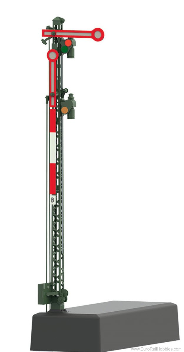 Marklin 70412 Home Signal with a Lattice Mast - MFX/DCC
