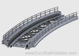 Marklin 7267 K/M BRIDGE RAMP 14-1/8 R.
