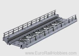 Marklin 7268 K/M BRIDGE RAMP STR 7-1/8